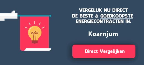 energieleveranciers vergelijken koarnjum