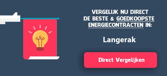 energieleveranciers vergelijken langerak