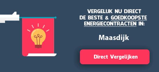 energieleveranciers vergelijken maasdijk