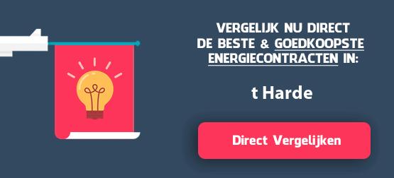 energieleveranciers vergelijken t-harde