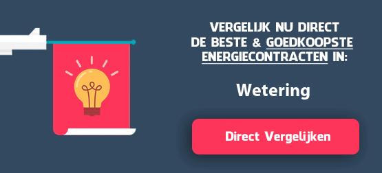 energieleveranciers vergelijken wetering